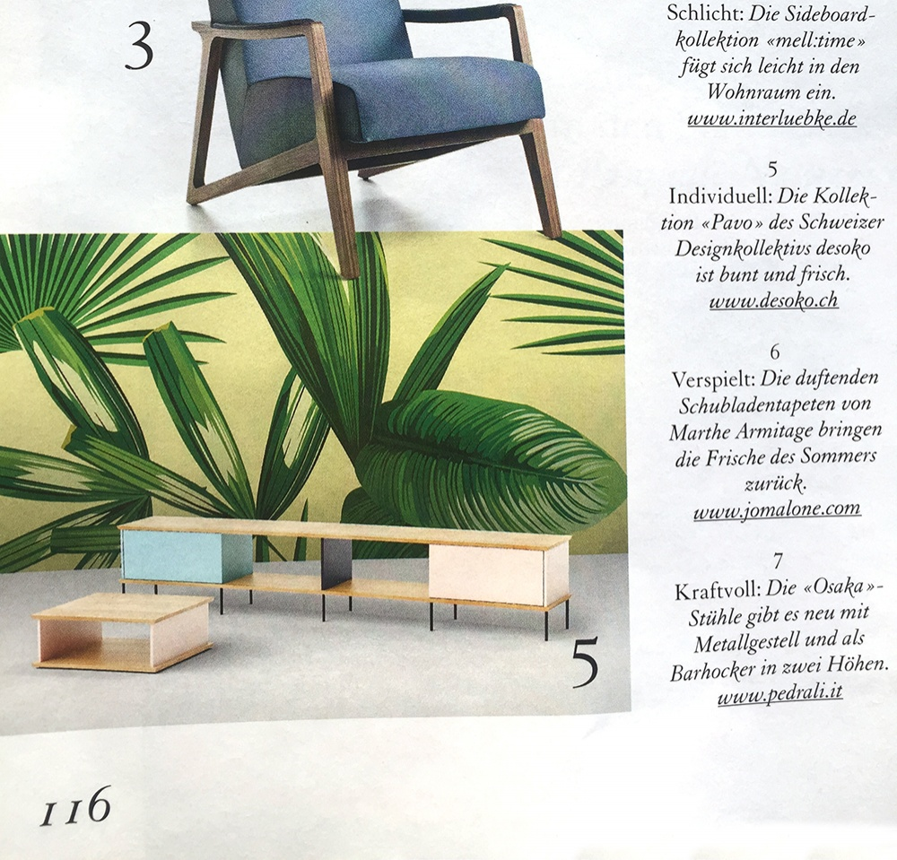 Io Selection Möbel Kollektion In Der Presse